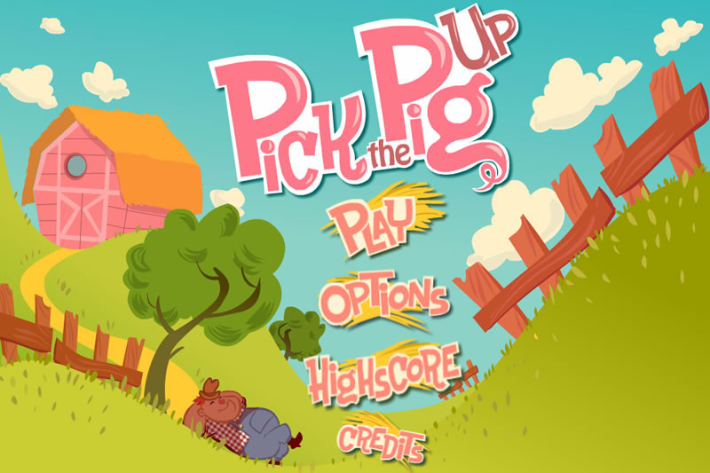 Desarrollo de la app para IOS Pick the Pig Up